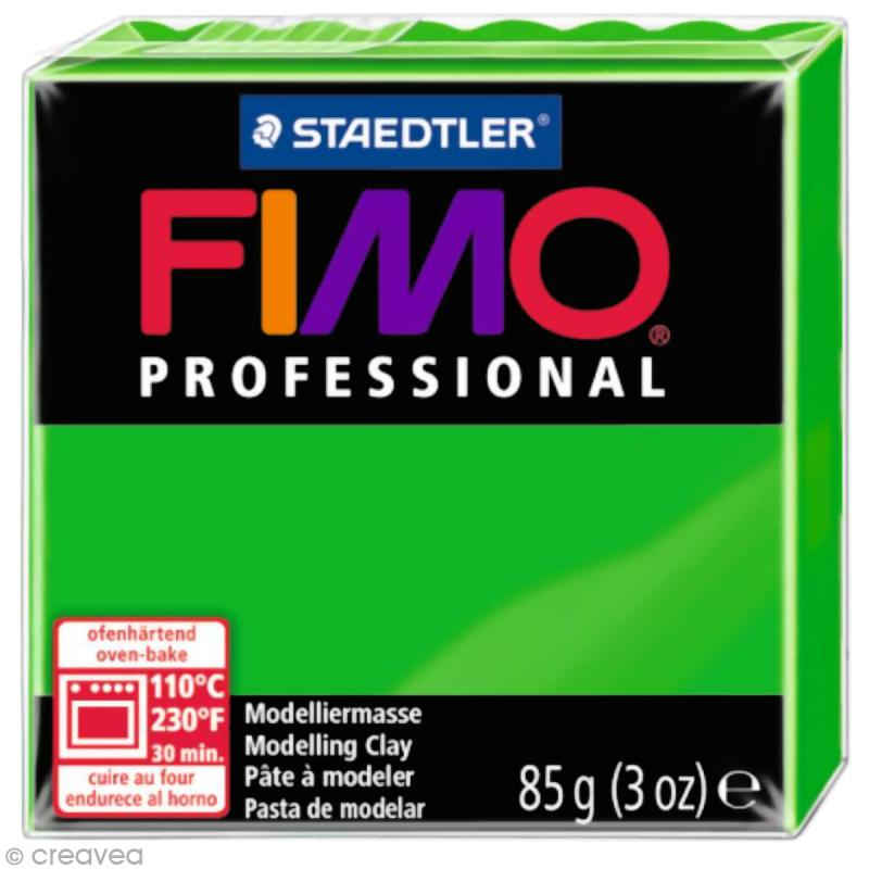 Fimo Professional Vert 5 - 85 gr - Photo n°1