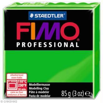 Pâte Fimo Professional Vert 5 - 85 gr