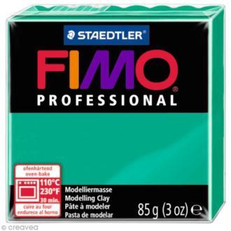 Pâte Fimo Professional Vert pur 500 - 85 gr