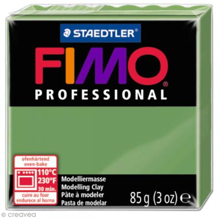 Fimo Professional Vert feuille 57 - 85 gr - Photo n°1