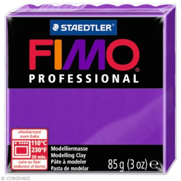 Pâte Fimo Professional Violet lilas 6 - 85 gr - Photo n°1