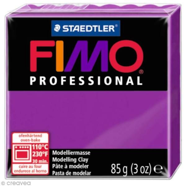 Pâte Fimo Professional Violet 61 - 85 gr - Photo n°1