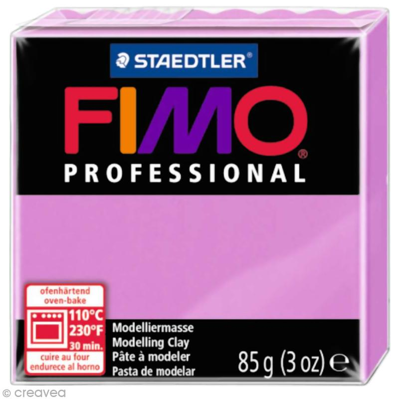 Fimo Professional Violet lavande 62 - 85 gr - Photo n°1