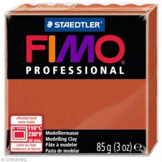 Fimo Professional Marron terracotta 74 - 85 gr
