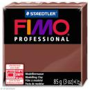 Pâte Fimo Professional Marron chocolat 77 - 85 gr - Photo n°1