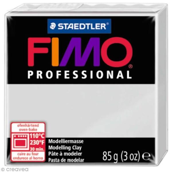 Pâte Fimo Professional Gris 80 - 85 gr - Photo n°1