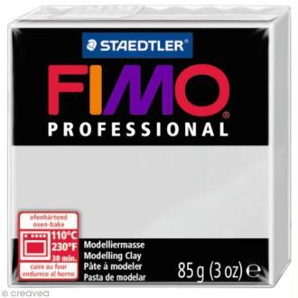 Pâte Fimo Professional Gris 80 - 85 gr