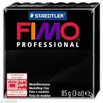Pâte Fimo Professional Noir 9 - 85 gr