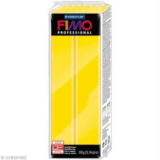 Pâte Fimo Professional Jaune pur 100 - 350 gr