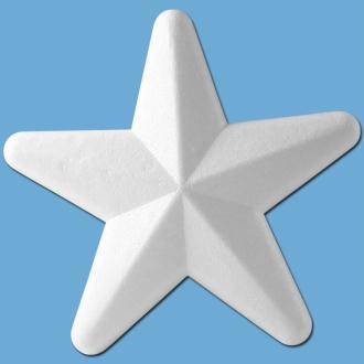 Etoile en polystyrène 20 cm