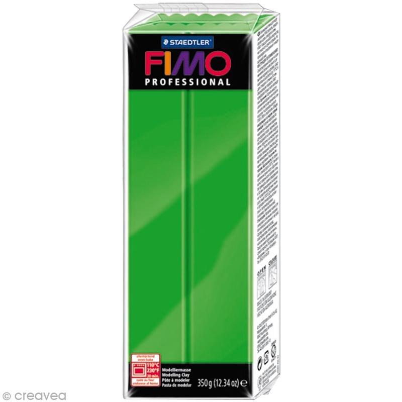 Fimo Professional Vert 5 - 350 gr - Photo n°1