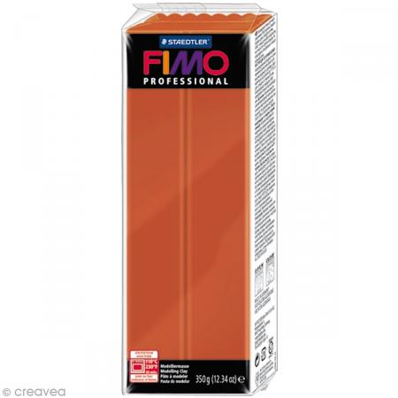 Fimo Professional Marron terracotta 74 - 350 gr - Photo n°1