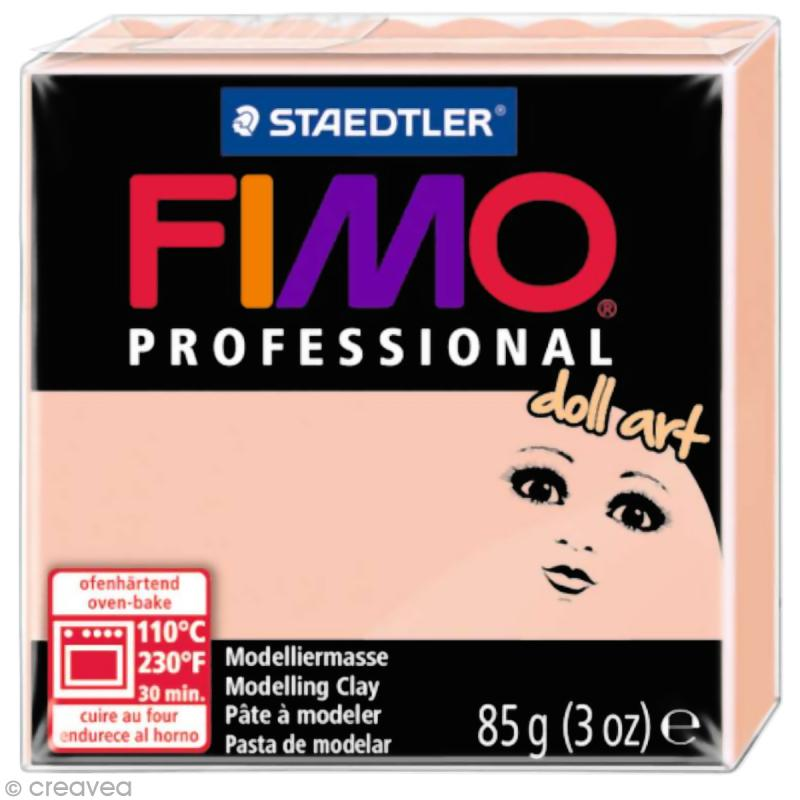 Pâte Fimo Professional Doll art - Rosé 432 - 85 gr - Photo n°1