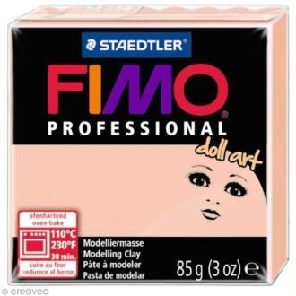 Pâte Fimo Professional Doll art - Rosé 432 - 85 gr