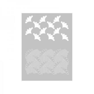 1 Pochoir Wax pour Pate Fimo, Pate Polymere, Cernit, Sculpey ref 265321 DTM