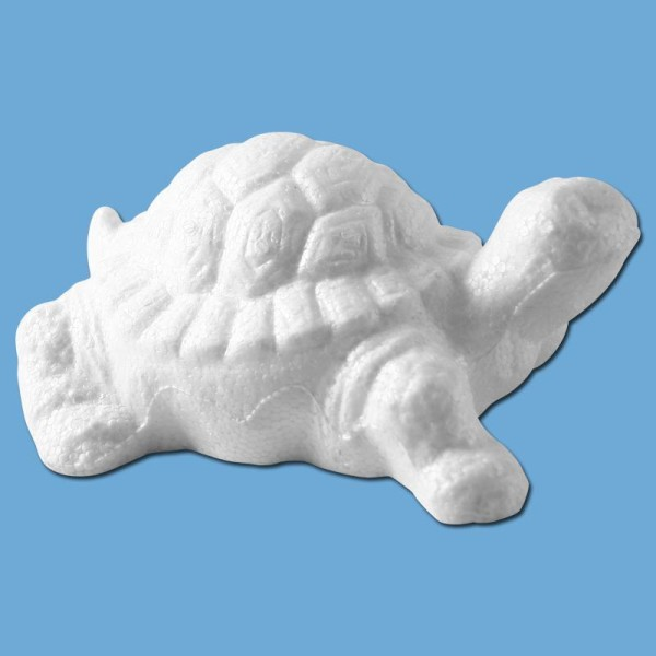 Tortue en polystyrène 13 cm - Photo n°1