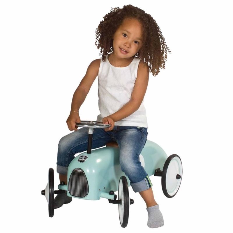 retro roller voiture chevaucher colin vert menthe 897 vj 2016 a jouets mixtes creavea. Black Bedroom Furniture Sets. Home Design Ideas