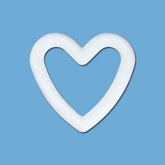 Coeur en polystyrène 20 cm