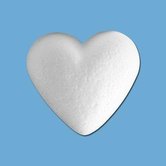 Coeur en polystyrène 5 cm