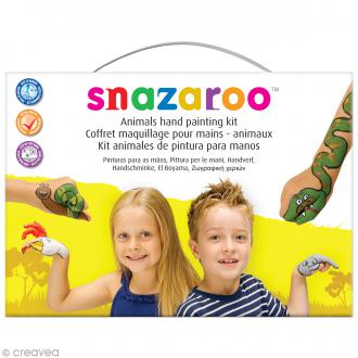 Kit modèle maquillage mains - Animaux