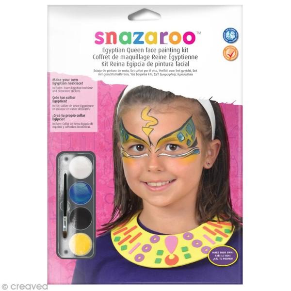 Kit modèle maquillage enfant - Princesse égyptienne - Kit maquillage enfant - Creavea