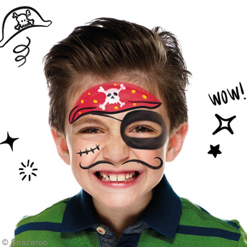 Kit atelier de maquillage enfant 26 mod les kit maquillage enfant creavea - Maquillage pirate fille ...