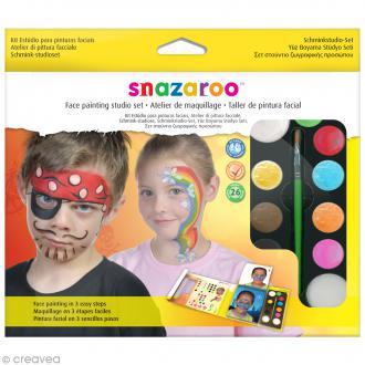 Kit atelier de maquillage enfant - 26 modèles