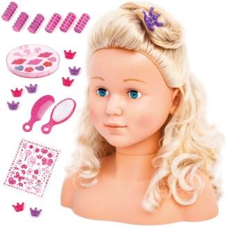 Bayer Ensemble de tête à coiffer de poupée Super Model 27 cm 90005AB
