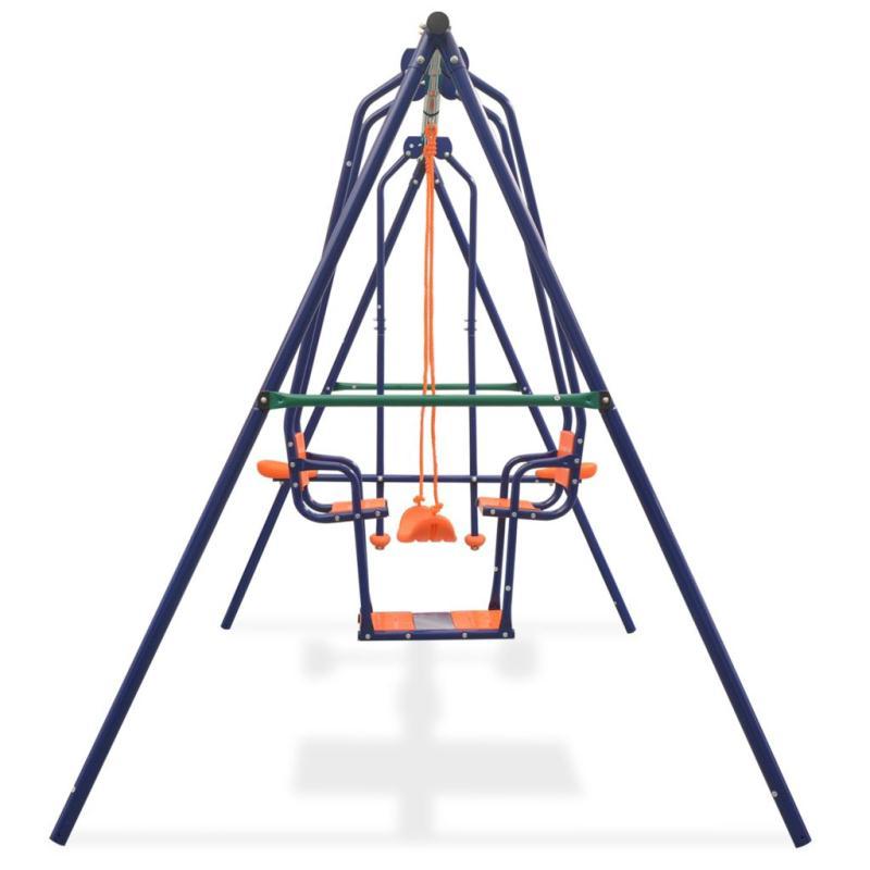 vidaxl ensemble de balan oires avec 5 si ges orange jeux et jouets plein air creavea. Black Bedroom Furniture Sets. Home Design Ideas