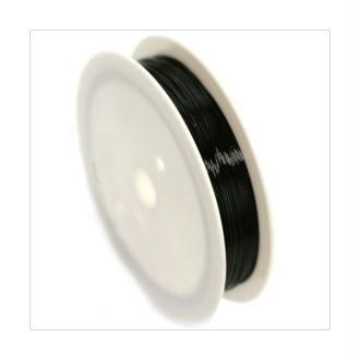 Fil Cuivre 0,6mm / Bobine 6m NOIR