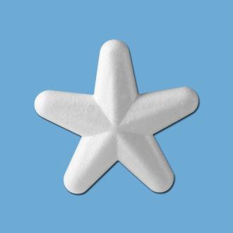 Etoile en polystyrène 10 cm