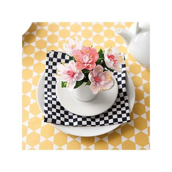 Kit Fleur En Papier Crepon Fleurs De Cerisier Kit Sans Album Creavea