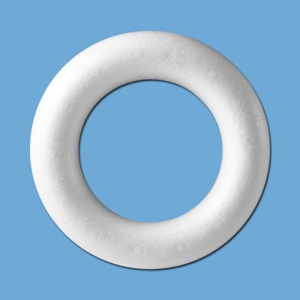 Anneau en polystyrène diam 15 cm - Photo n°1