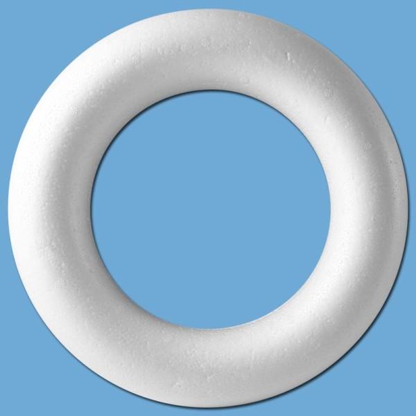 Anneau en polystyrène diam 25 cm - Photo n°1