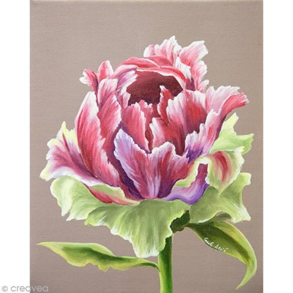 Image 3D Fleur - Tulipe - 24 x 30 cm - Photo n°1