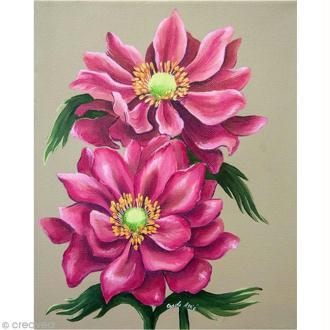 Image 3D Fleur - Anémone - 24 x 30 cm