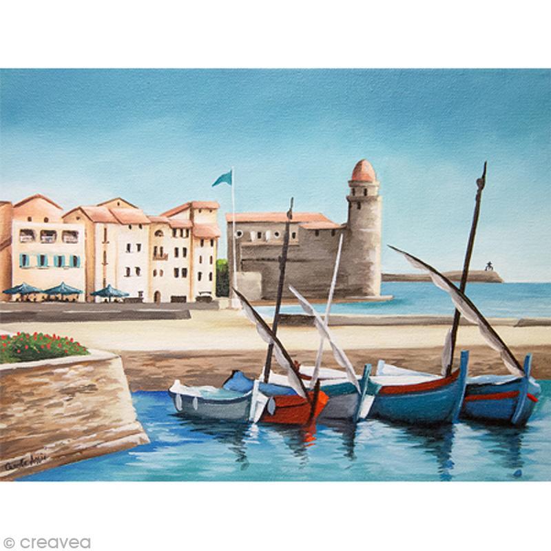 Image 3D Paysage - Collioure - 30 x 40 cm - Photo n°1