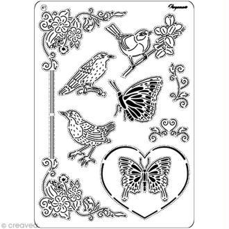 Gille Pergamano 41 - Oiseaux et papillons (31471)