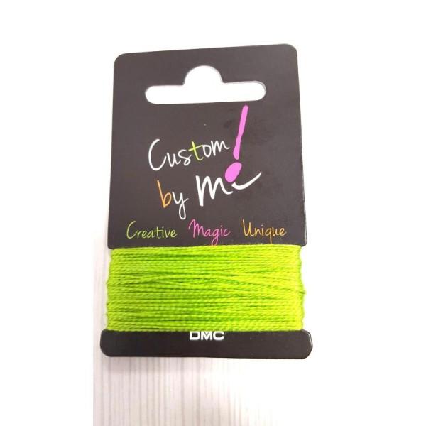 Fil à broder vert custom by me - uni - 10 m - Photo n°1