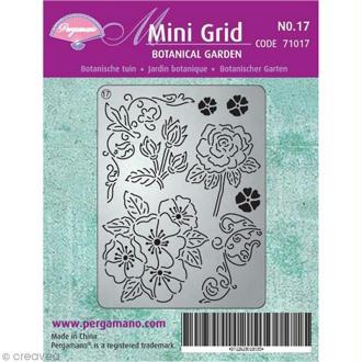 Mini grille Pergamano 17 - Jardin Botanique (71017)