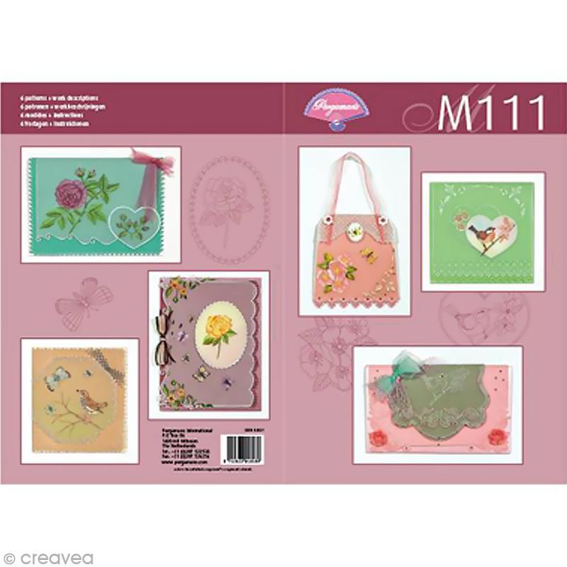 Livre de motifs pergamano jardin botanique 6 patrons for Boutique jardin botanique