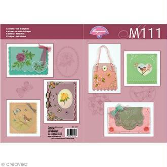 Livre de motifs Pergamano - Jardin botanique - 6 Patrons - M111 (82021)