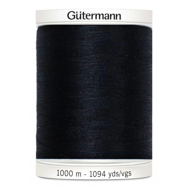 Fil pour tout coudre Gutermann 1000 m - N°000 - Photo n°1
