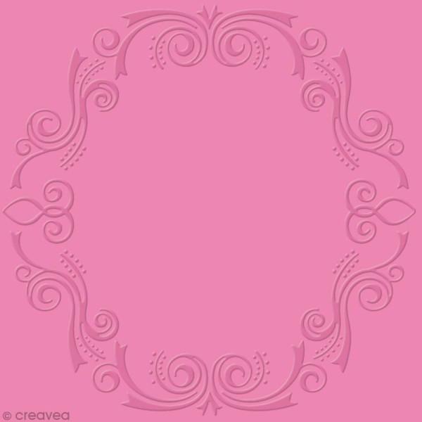Classeur d'embossage Arabesque ovale - 13 x 13 cm - Photo n°2
