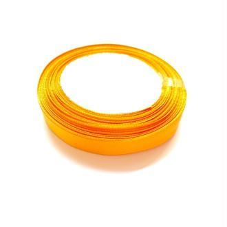 Ruban en Polyester Satin Orange 12.6mm, 1 Rouleau(Env. 25 M/Rouleau)