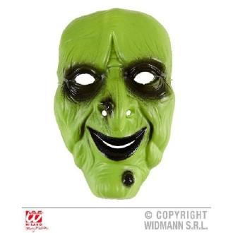 6 Masques sorcière PVC rigide