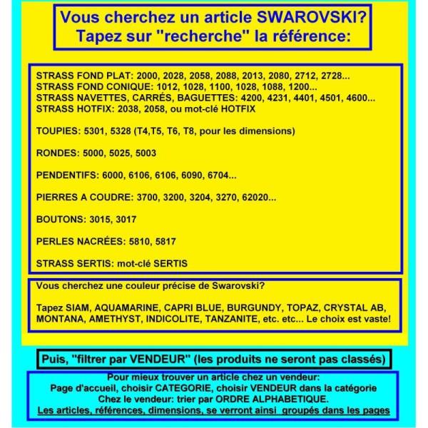 T4 5328 4 LO *** 60 toupies cristal Swarovski 4mm LIGHT OLIVINE - Photo n°3