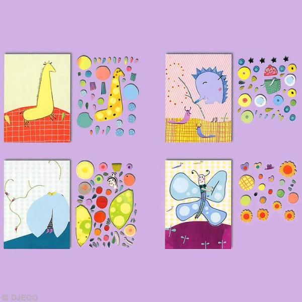Djeco Les petits - Collages - Très pop - Photo n°3