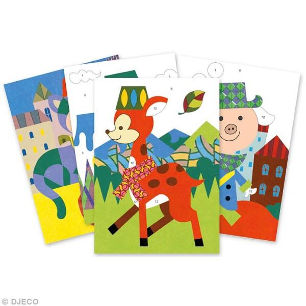 Djeco Les plus grands - Sables colorés - Panda et ses copains - Photo n°2