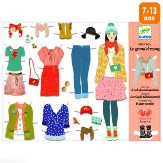 Djeco Au bonheur des filles - Oh ! La mode - Le grand dressing